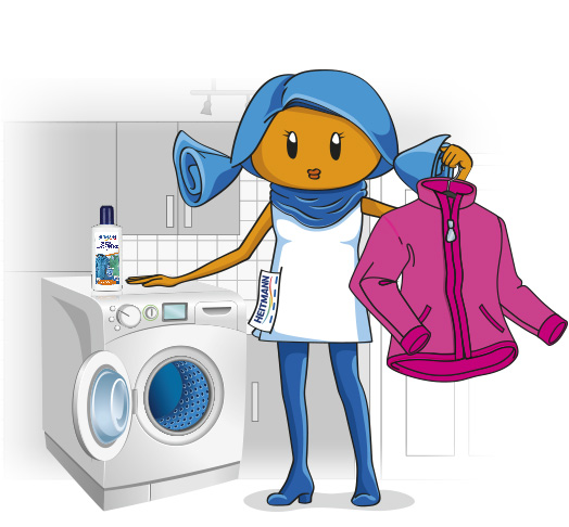 Waschmaschine clipart  HEITMANN Special Laundry Care for functional clothing. | HEITMANN ...